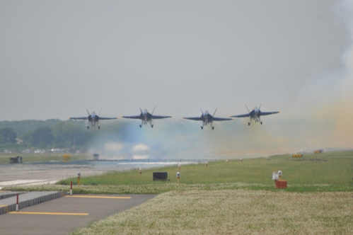 Blue Angels Launching