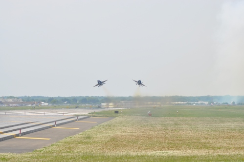 Blue Angels Solos Taking Off