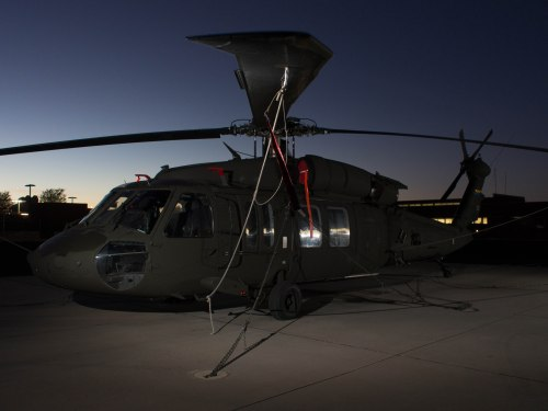 National Guard UH-60A