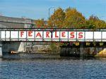 Harvard Train Bridge, Charles River, Boston
