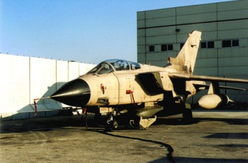 Tornado GR 1 ZD791 (BG-B) lost over Iraq