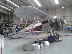 Gloster Gladiator - airworthy