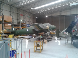 Bristol Beaufighter - a long job