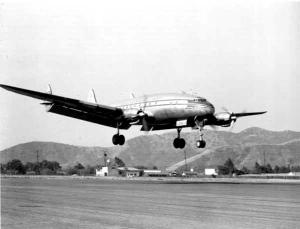 Connie landing