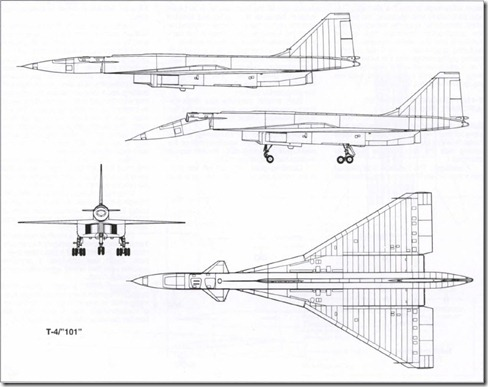 T-4 3 view