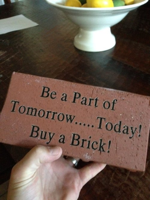 """""""Normal"""" Size Brick"""