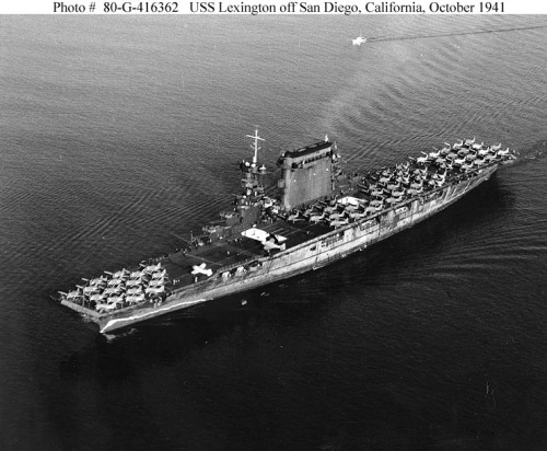 USS-Lexington-CV-2-October-1941
