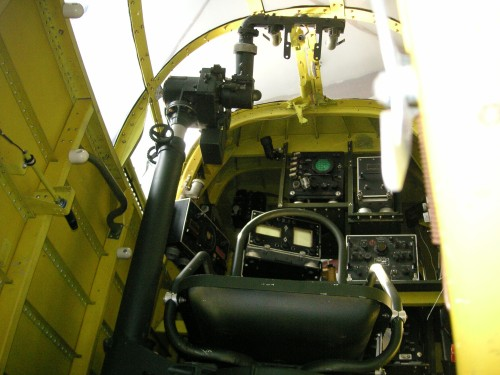 view into the R.O.'s compartment from the aft boarding laddarPICT1352