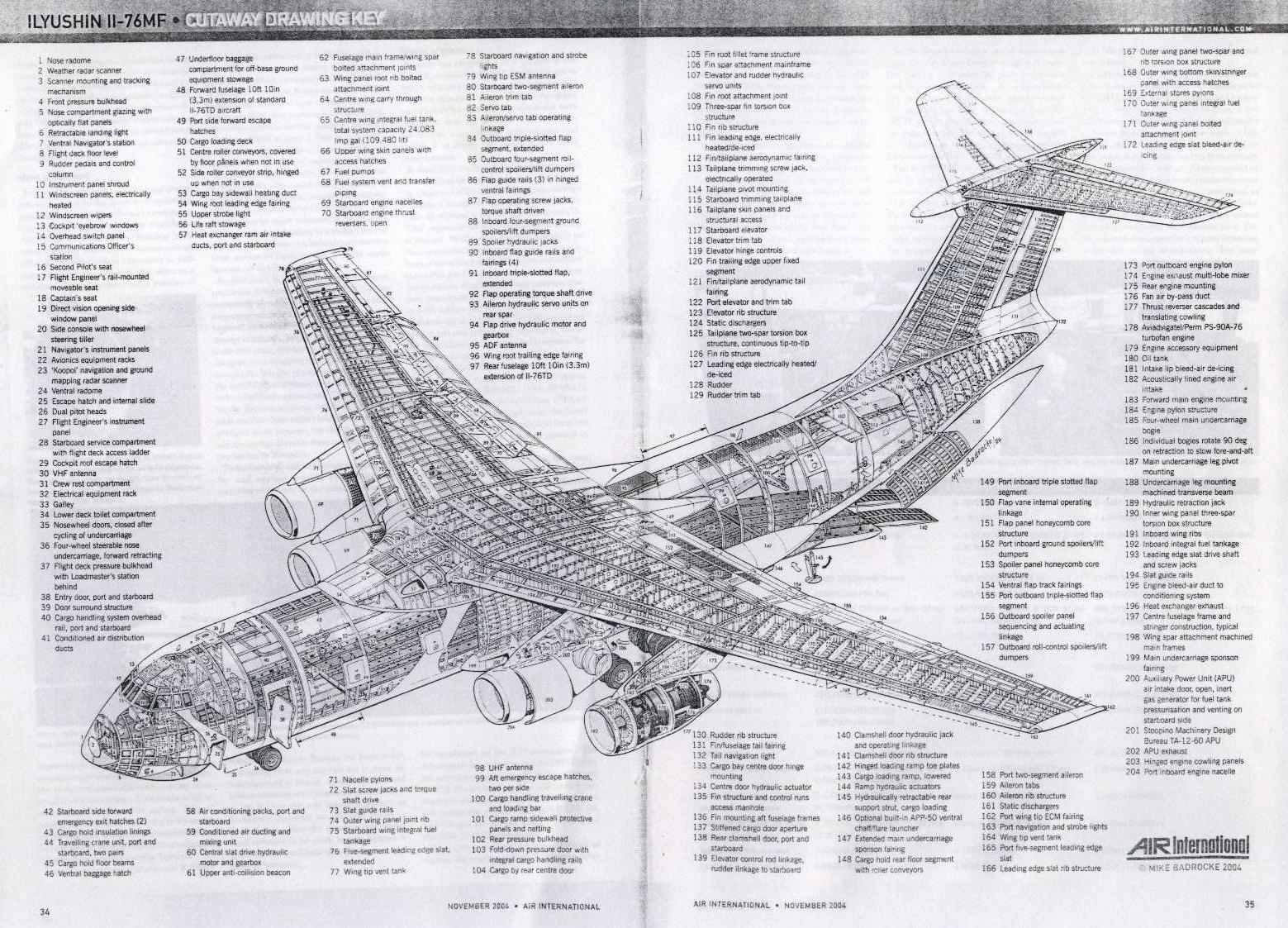 Cutaway Thursday Ilyushin Il 76mf Candid The Lexicans