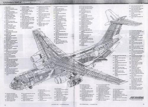 IL-76 Cutaway