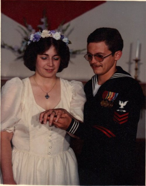 Wedding Day 11 June 1983