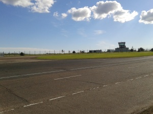 The airfield is still here if you ever fancy opening it up again?