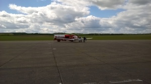 An international incident over the price of aviation fuel in the UK was narrowly averted ;)