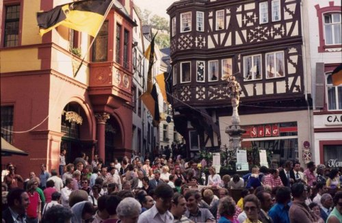 Images of Germany 1973 - Bernkastel Weinfest03