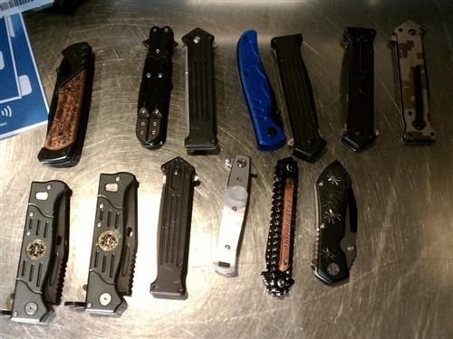Thirteen Knives