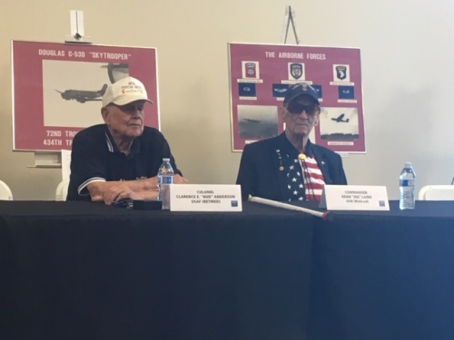 A Talk With 2 WW2 Aces1